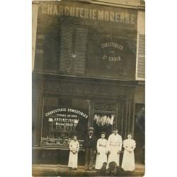 PARIS 15. Charcuterie Fally Touzet 19 rue Frémicourt 1908