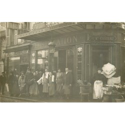 PARIS 14. Café Ruc et Charcuterie Merlin 13 bis rue de l'Ouest 1913