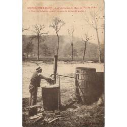14 SCENES NORMANDES. La Fabrication de l'Eau-de-Vie de Cidre 1928