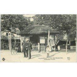 carte postale ancienne 63 CHATEL-GUYON. La Buvette Yvonne