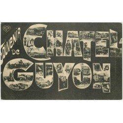 carte postale ancienne 63 CHATEL-GUYON. Souvenir Fantaisie