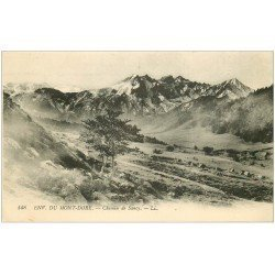 carte postale ancienne 63 CHEMIN DE SANCY