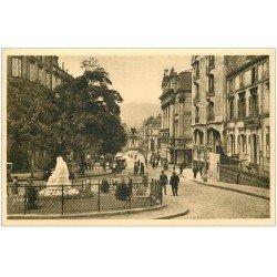 carte postale ancienne 63 CLERMONT-FERRAND. Boulevard Desaix