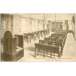 carte postale ancienne 63 CLERMONT-FERRAND. Etude des Grandes Pensionnat Sainte-Marguerite