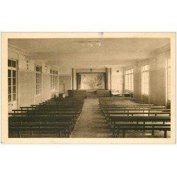 carte postale ancienne 63 CLERMONT-FERRAND. Salle de Réunion Institution Saint-Alyre 1946