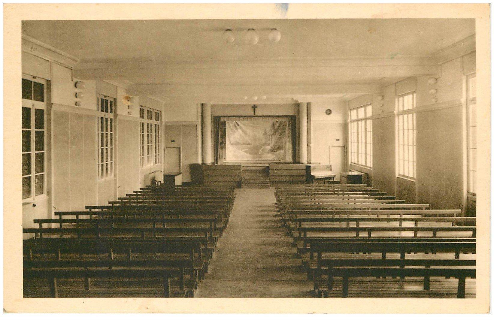 63 clermont ferrand salle de r union institution saint alyre 1946. Black Bedroom Furniture Sets. Home Design Ideas