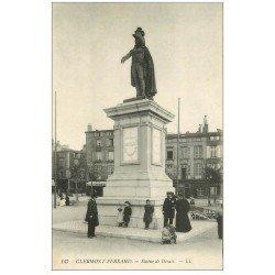 carte postale ancienne 63 CLERMONT-FERRAND. Statue Desaix