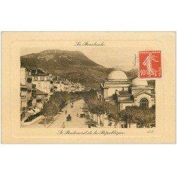 carte postale ancienne 63 LA BOURBOULE. Boulevard de la République