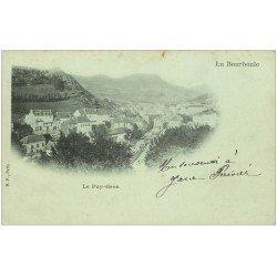 carte postale ancienne 63 LA BOURBOULE. Carte Pionnière vers 1900