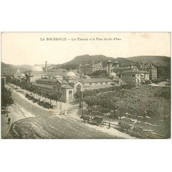 63 LA BOURBOULE. Lot de 10 Cpa. Place Jet d'Eau, Casino, Funiculaire, Roche Fées, Pont Chalet, Place Hôtel de Ville...