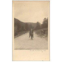 carte postale ancienne 63 LE MONT DORE. Anier Route de Sancy. Prototype pour future Carte Postale.
