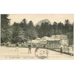 carte postale ancienne 63 LE MONT DORE. Le Skating Patinoire du Capucin 1923. Sports