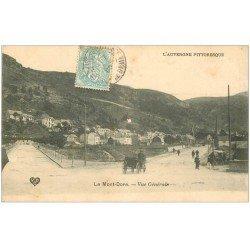 carte postale ancienne 63 LE MONT DORE. Vue générale 1905