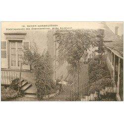 carte postale ancienne 63 ROYAT. Allée Saint-Victor. Etablissement Franciscaines