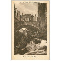 carte postale ancienne 63 ROYAT. Cascade de la Tiretaine n°1169