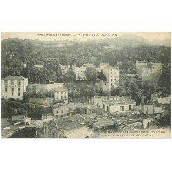 """carte postale ancienne 63 ROYAT. Chocolaterie Rouzaud """""""" Marquise de Sévigné """""""" 1914"""