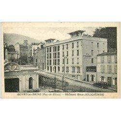 carte postale ancienne 63 ROYAT. Hôtel Sainte-Eugénie et Chocolaterie
