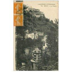 carte postale ancienne 63 ROYAT. Le Paradis et Pigeonnier 1922