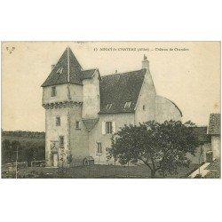 carte postale ancienne 03 AINAY-LE-CHATEAU. Château de Chandon 1920