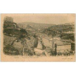 carte postale ancienne 63 THIERS Lot de 8 Cpa. Pont Seychalles, Viaduc Grand Tournant, Eglise, Gorges Durolle, Creux Enfer...