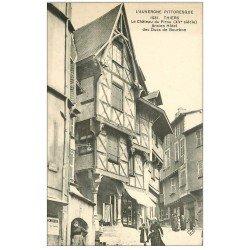 carte postale ancienne 63 THIERS. Château du Pirou ancien Hôtel des Ducs de Bourbon