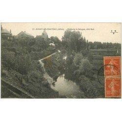 carte postale ancienne 03 AINAY-LE-CHATEAU. Vallée de la Sologne 1920
