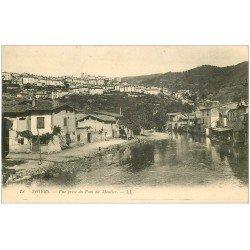 carte postale ancienne 63 THIERS. Vue du Pont du Moutier
