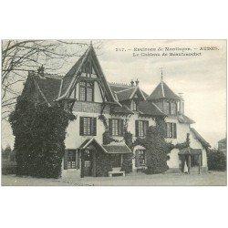 carte postale ancienne 03 AUDES. Château de Beaufranchet