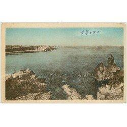 carte postale ancienne 34 AGDE-SUR-MER. Rocher des Deux Frères et Conque