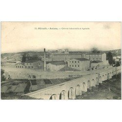 carte postale ancienne 34 ANIANE. Colonie Industrielle Agricole 1907