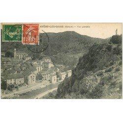carte postale ancienne 34 AVENE-LES-BAINS 1918