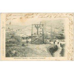 carte postale ancienne 34 BEDARIEUX. Les Bauxistes à l'Arbousas 1903