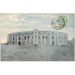 carte postale ancienne 34 BEZIERS. Arènes 1906