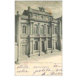 carte postale ancienne 34 BEZIERS. La Caisse d'Epargne 1902