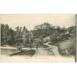 carte postale ancienne 34 BEZIERS. Lac Poètes