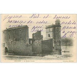 carte postale ancienne 34 BEZIERS. Le Moulin Cordier 1903