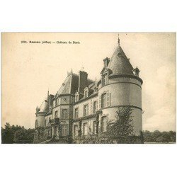 carte postale ancienne 03 BESSON. Château de Bostz 1934