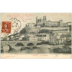 carte postale ancienne 34 BEZIERS. Vue 1914