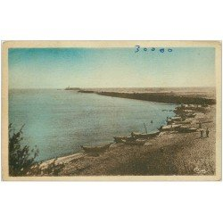 carte postale ancienne 34 CAP-D'AGDE. Jetée Richelieu Fort Brescou