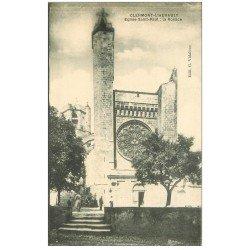 carte postale ancienne 34 CLERMONT-L'HERAULT. Rosace Eglise Saint-Paul 1922