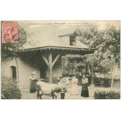 carte postale ancienne 34 LAMALOU-LES-BAINS. Laiterie Suisse Usclade 1906