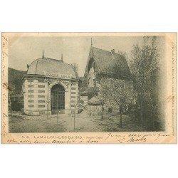 carte postale ancienne 34 LAMALOU-LES-BAINS. Source Capus 1903