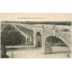 carte postale ancienne 34 MONTPELLIER. Aqueduc n°221