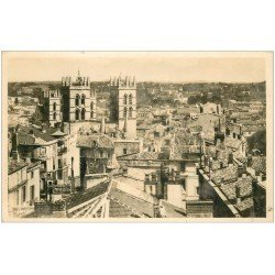 carte postale ancienne 34 MONTPELLIER. Cathédrale Tour. Carte photo