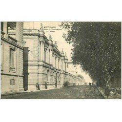 carte postale ancienne 34 MONTPELLIER. Ecole des Beaux-Arts Musée 1915