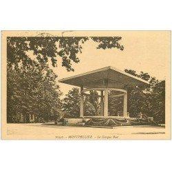 carte postale ancienne 34 MONTPELLIER. Kiosque Bosc 1935