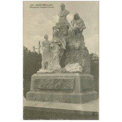 carte postale ancienne 34 MONTPELLIER. Monument Comte