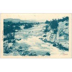 carte postale ancienne 34 MURVIEL-LES-BEZIERS. Rapides Orb 1933