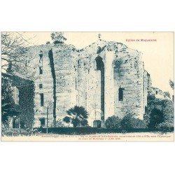 carte postale ancienne 34 PALAVAS-LES-FLOTS. Eglise Maguelone