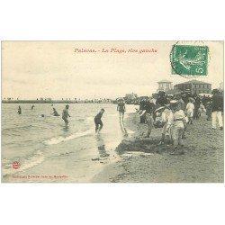 carte postale ancienne 34 PALAVAS-LES-FLOTS. La Plage rive gauche